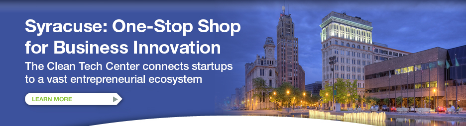 Syracuse: One-Stop Shop for Business Innovation. LEARN MORE >